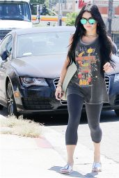 Vanessa Hudgens Casual Style - Out in Studio City, July 2015