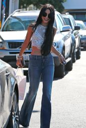 Vanessa Hudgens Street Style - Out in West Hollywood, July 2015