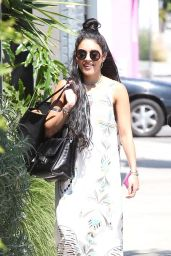 Vanessa Hudgens Summer Style - Out and About in West Hollywood, July 2015
