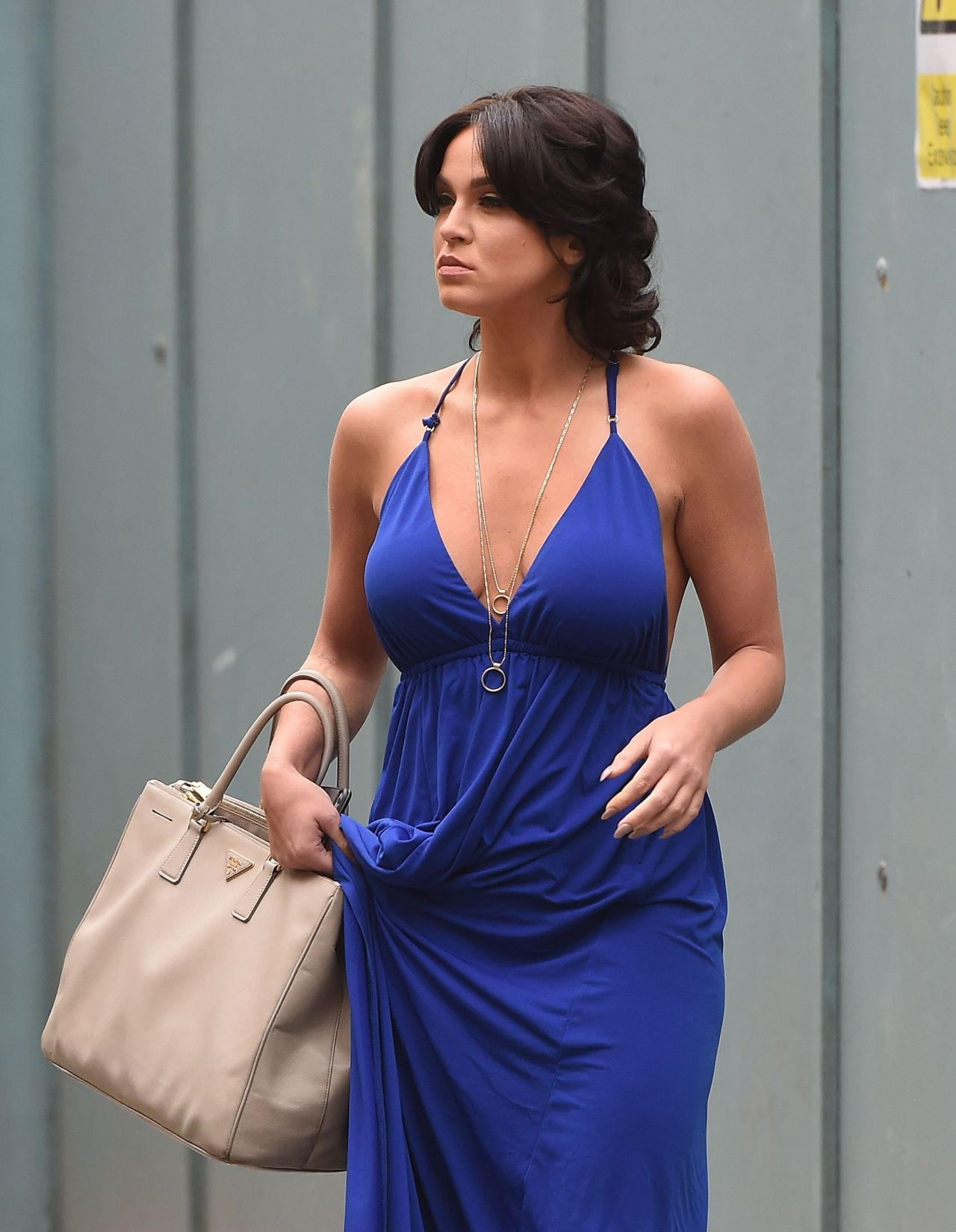 Vicky Pattison Summer Style Shopping In London July 2015