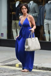 Vicky Pattison Summer Style - Shopping in London, July 2015