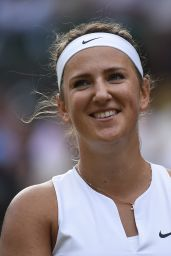 Victoria Azarenka – Wimbledon Tournament 2015 – Quarter Final