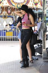 Victoria Justice Style - Out and About in Los Angeles, July 2015
