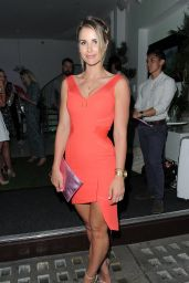 Vogue Williams - LOVO Coconut Water Launch in London - July 2015