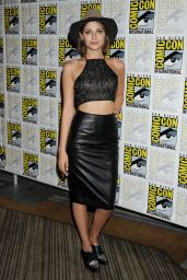 Willa Holland - Arrow Press Line at Comic Con in San Diego, July 2015