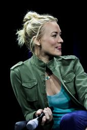 Yvonne Strahovski - Nerd HQ 2015 Badass Women Panel at Comic Con in San Diego