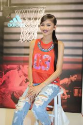 Zendaya Style - Adidas Adigirl Collection Event in New York City