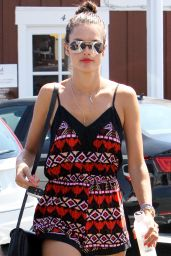 Alessandra Ambrosio Summer Style - Out in Brentwood, August 2015