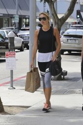 Alex Gerrard Street Style - Shopping in Beverly Hills, July 2015