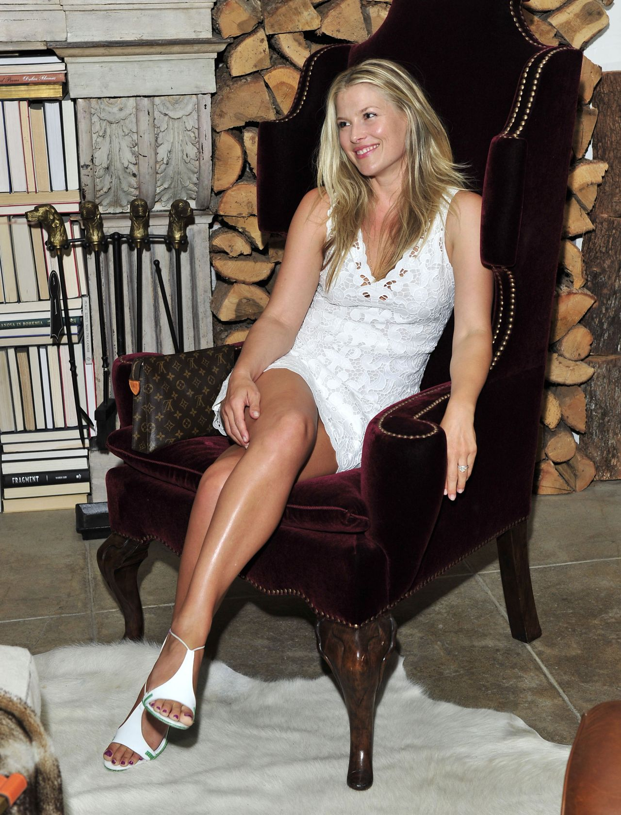 Ali Larter At Ken Fulk For Pottery Barn Private Event In