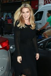 Alice Eve - NBC Studios During an Appearance on