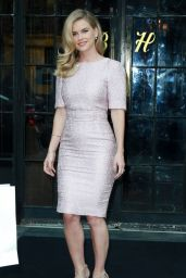 Alice Eve Style - Leaving Her Hotel in NYC, August 2015