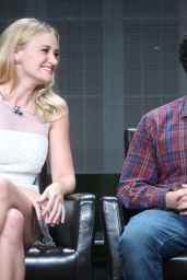 Amanda AJ Michalka - The Goldbergs Panel at 2015 Summer TCA Tour in Beverly Hills