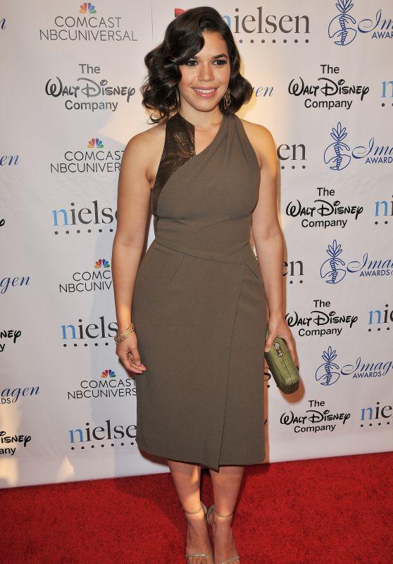 America Ferrera - 2015 Imagen Awards in Los Angeles