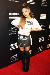 Ariana Grande – Republic Records VMA 2015 After Party in West Hollywood