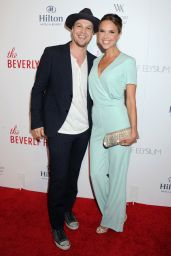 Arielle Kebbel - The Beverly Hilton Celebrates 60 years with a Diamond Anniversary Party