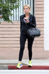 Ashley Benson - Going to the gym in Los Angeles, July 2015