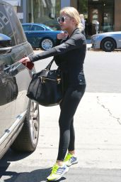 Ashley Benson in Tights - Out in LA, August 2015