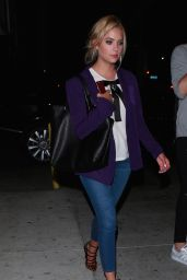 Ashley Benson Leaving the Warwick Club in Hollywood, August 2015