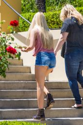 Ava Sambora in Jeans Shorts - Calabasas, August 2015