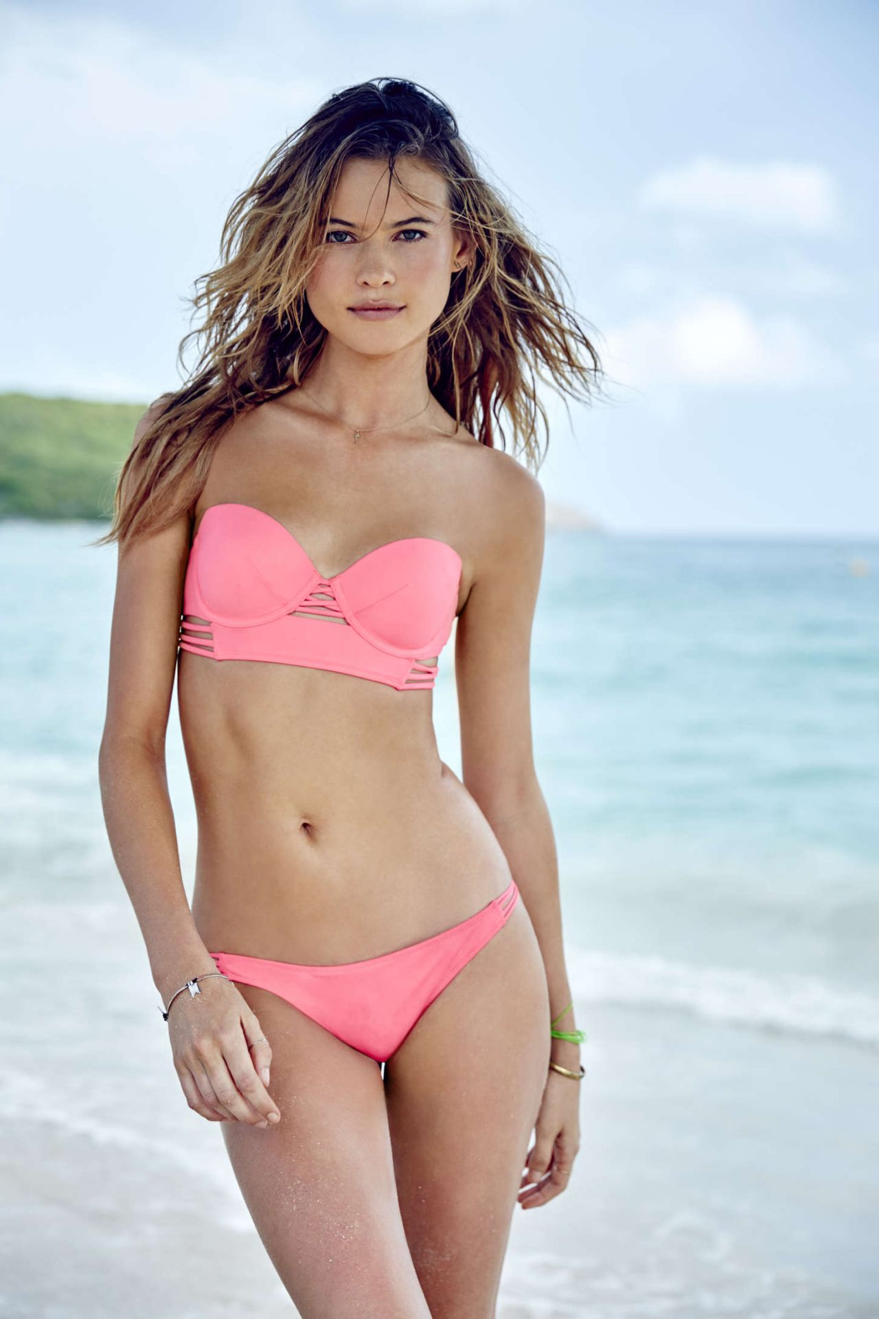 Behati Prinsloo Bikini Pics Victoria S Secret Swim