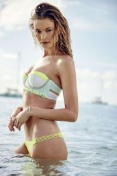 Behati Prinsloo Bikini Pics – Victoria's Secret Swim Catalog 2015