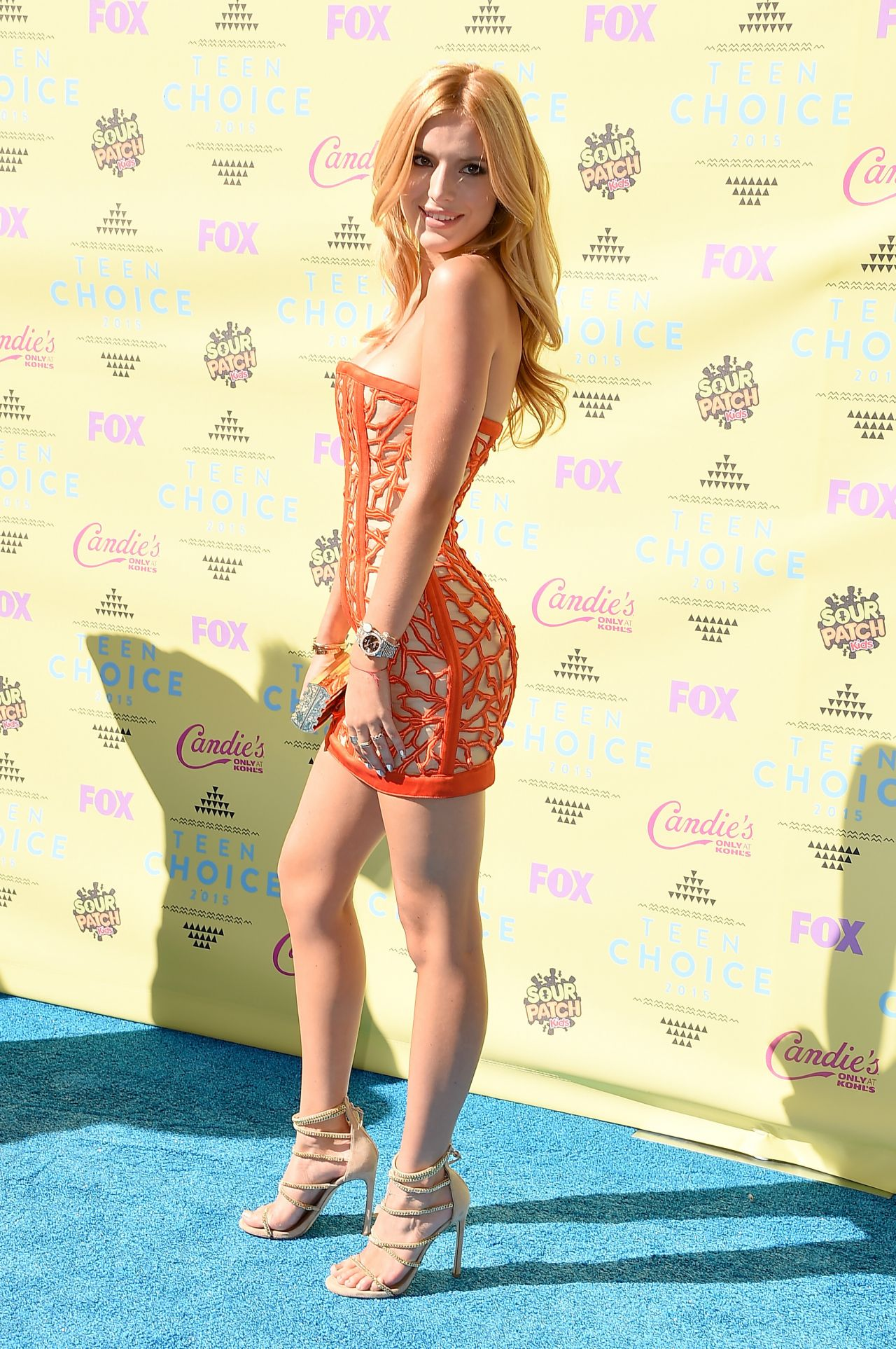 Bella Thorne 2015 Teen Choice Awards In Los Angeles