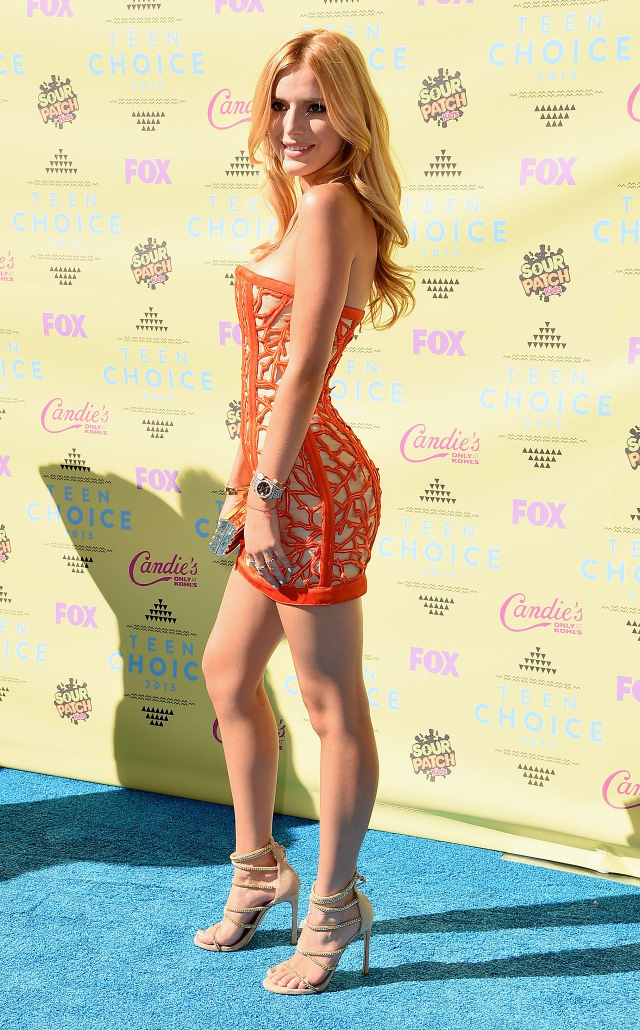 Bella Thorne - 2015 Teen Choice Awards In Los Angeles-3239