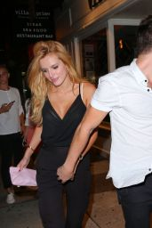 Bella Thorne Night Out Style - New York City, July 2015