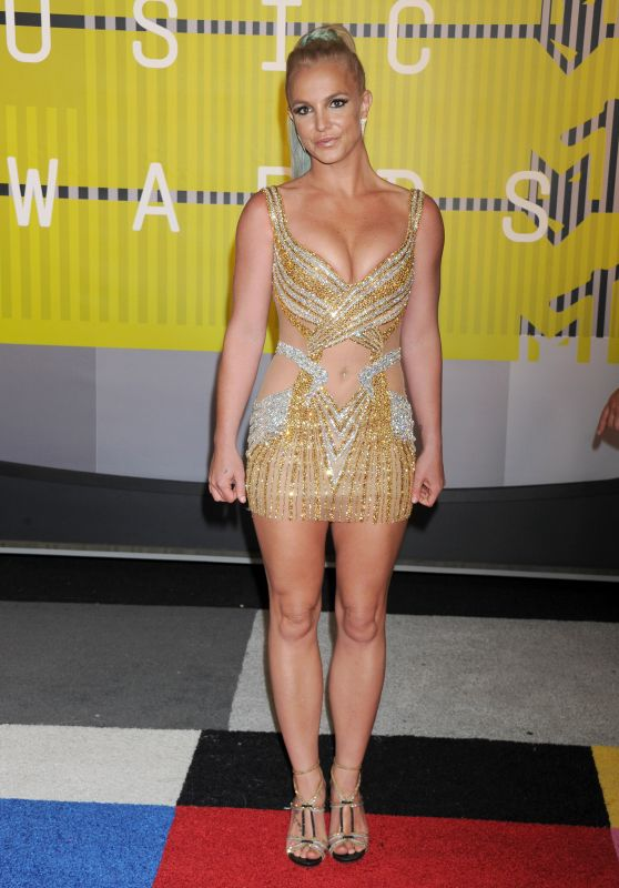 Britney Spears – 2015 MTV Video Music Awards at Microsoft Theater in Los Angeles