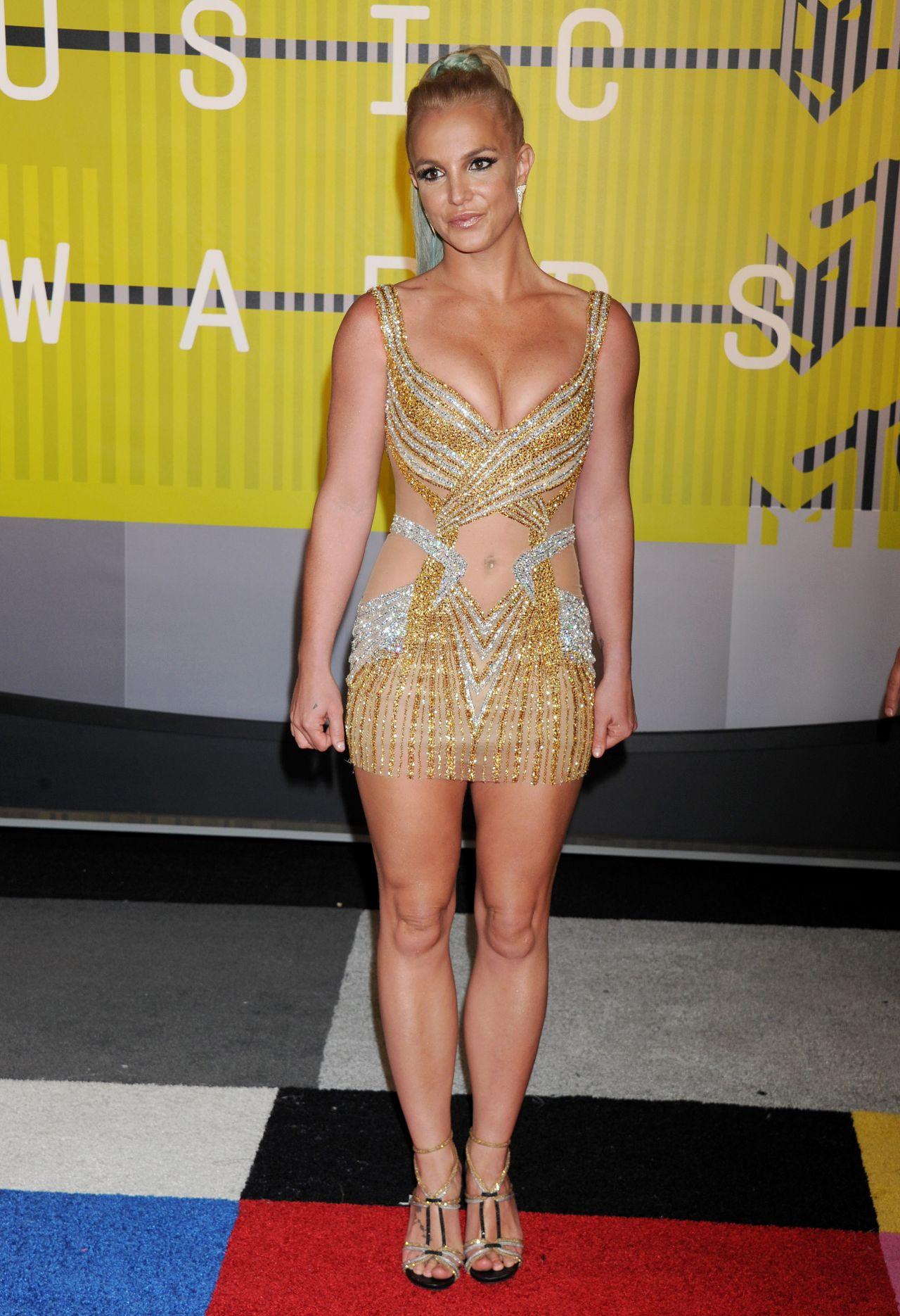 Britney Spears 2015 Mtv Video Music Awards At Microsoft