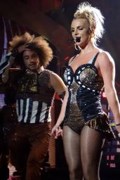 Britney Spears Performing at Planet Hollywood in Las Vegas, August 2015