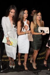 Brooke Vincent - Arrives at the Relaunch of Evissa in Manchester, August 2015