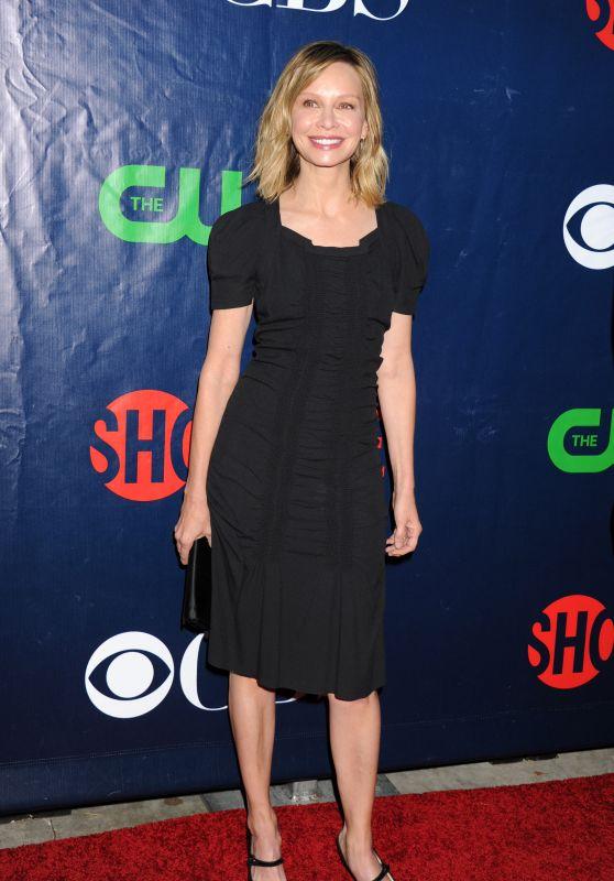 Calista Flockhart - 2015 Showtime, CBS & The CW