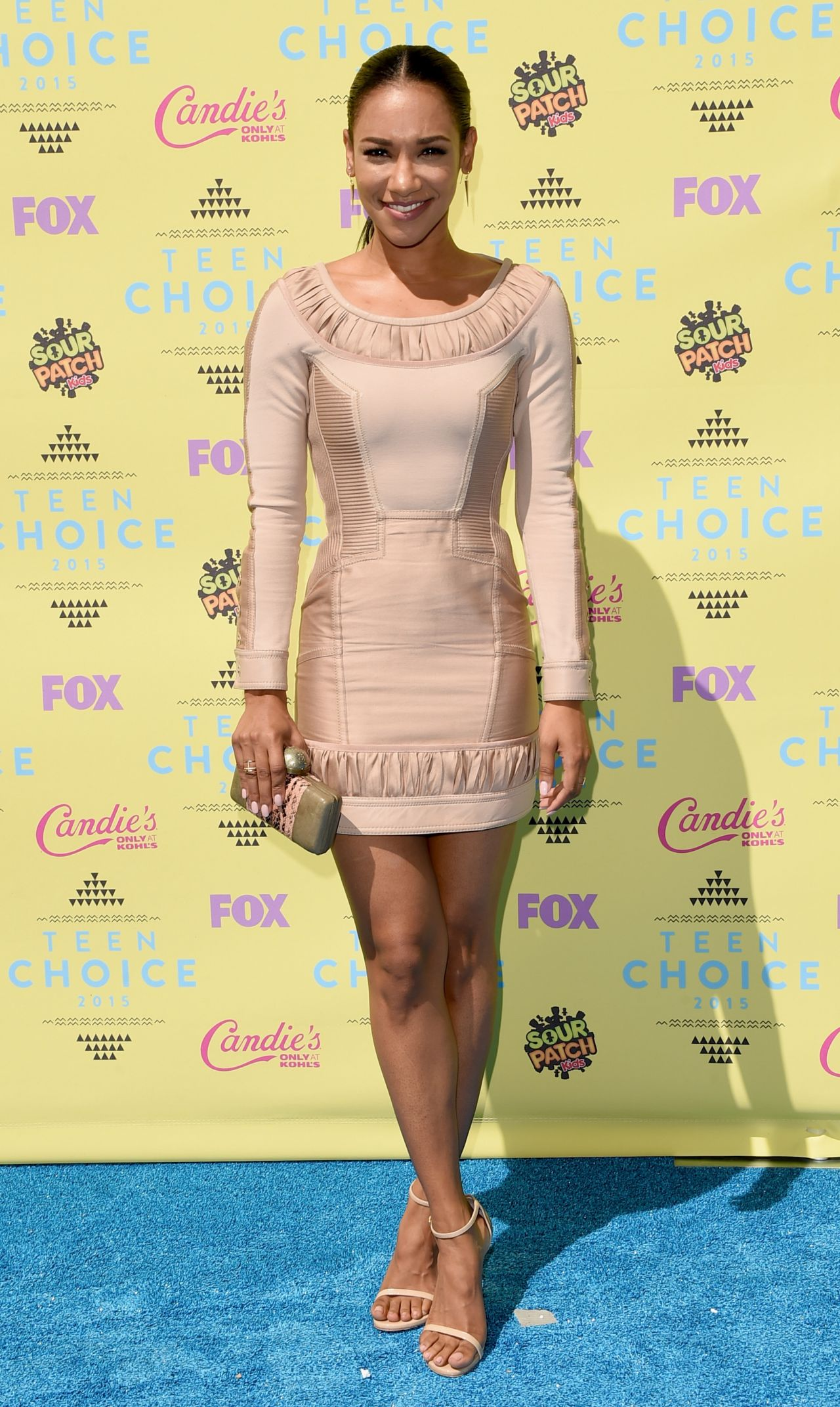 Candice Laurent Facebook Candice Patton Teen Choice Awards In Los Angeles