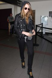 Cara Delevingne at LAX Airport, August 2015