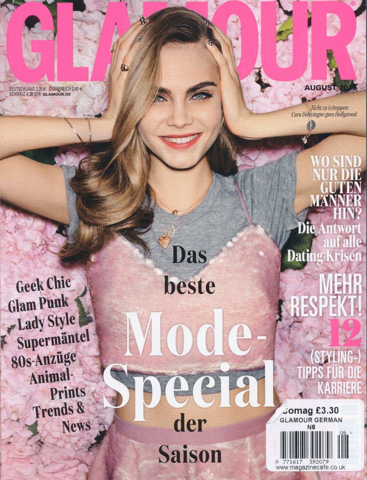 Glamour Magazine Germany August 2015 Issue