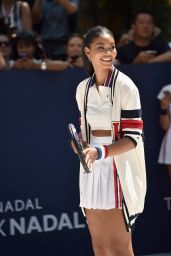 Chanel Iman – Tommy Hilfiger and Rafael Nadal Launch Global Brand Ambassadorship in New York City, August 2015