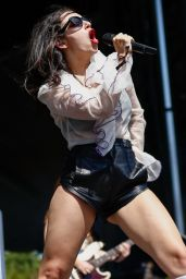 Charli XCX - Performing at Lollapalooza in Chicago, August 2015
