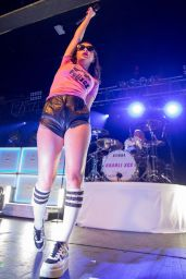 Charli XCX - Performing at The Rave in Milwaukee, August 2015
