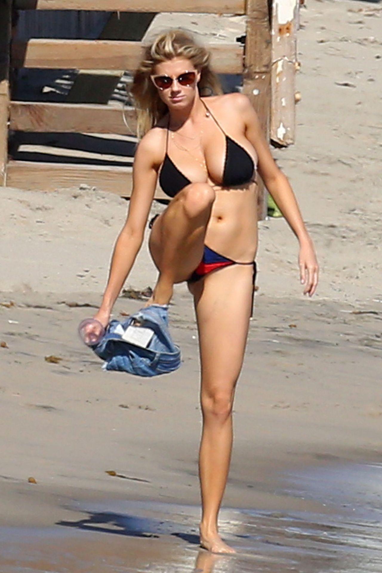 Bikini Slip At Beach