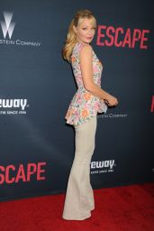 Charlotte Ross - No Escape Premiere in Los Angeles