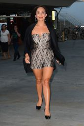 Cheryl Burke at the Taylor Swift Concert in Los Angeles, August 2015