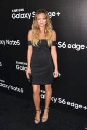 Chrissy Teigen - Samsung Launch Party in West Hollywood, August 2015