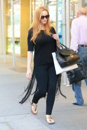 Christina Hendricks - Out Shopping in New York City, August 2015