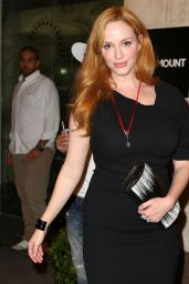 Christina Hendricks - Out to See Queen of the Night in New York, August 2015