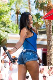 Christina Milian - at the Go Pool At Flamingo Las Vegas, August 2015