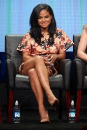 Christina Milian - Grandfathered Panel at Summer TCA Tour in Beverly Hills