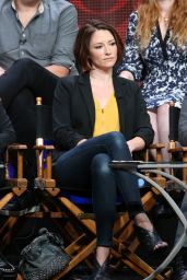 Chyler Leigh - Supergirl Panel at CBS Summer TCA Tour in Beverly Hills