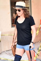 Cobie Smulders Leaving a Doctors Office in Beverly Hills, August 2015
